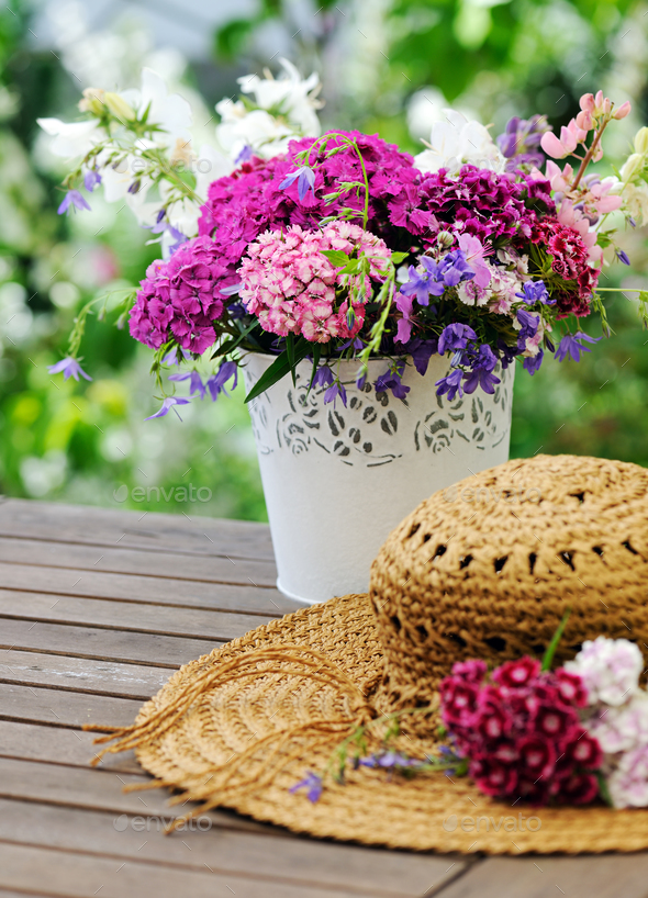 In the garden - Stock Photo - Images