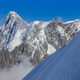 Mont Blanc mountain, view from Aiguille du Midi. France - PhotoDune Item for Sale