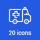 20 Health Icons