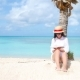 Young Woman Reading Book During Tropical White Beach - VideoHive Item for Sale