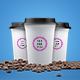 3D Paper Cup Mock-up for Coffee