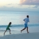 Father and Kids Enjoying Beach Summer Tropical Vacation - VideoHive Item for Sale