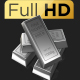 Silver Bars 360 Loop in Full HD - VideoHive Item for Sale