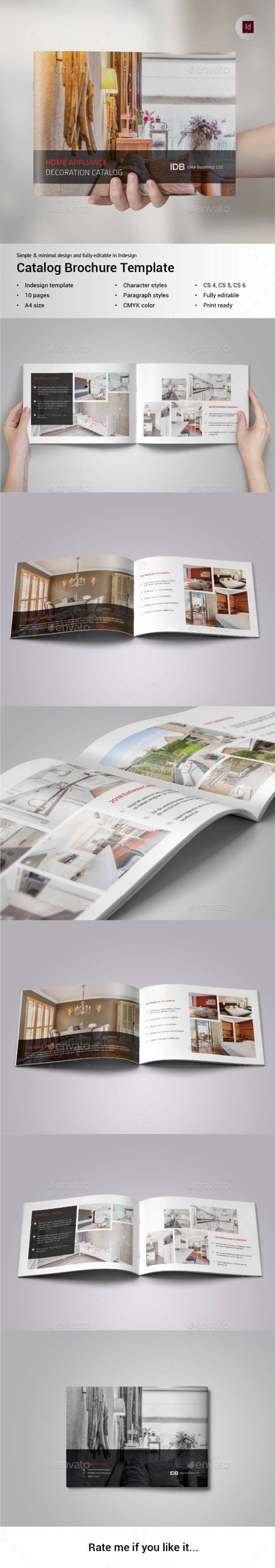 Catalog Brochure - Brochures Print Templates