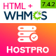 HOSTPRO - WHMCS & HTML Responsive Professional Clean and Creative Hosting and multipurpose Template - ThemeForest Item for Sale