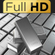 Silver Bars 360 Loop FULL HD_V2 - VideoHive Item for Sale