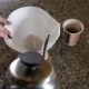 Modern and Alternative Ways of Coffee making.Barista Brews Coffee Using Coffee Maker Chemeks.  o - VideoHive Item for Sale