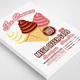 Ice Cream Menu Flyer - GraphicRiver Item for Sale