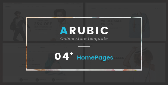 Image of Arubic - Fashion Responsive OpenCart Theme