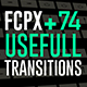 FCPX 74 Useful Transitions - VideoHive Item for Sale