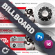 Technical Data Billboard Templates - GraphicRiver Item for Sale