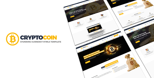 CryptoCoin | Bitcoin Crypto Currency Template