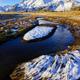 Winter landscape in Iceland - PhotoDune Item for Sale