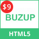 Buzup - One Page Multipurpose HTML5 Template - ThemeForest Item for Sale