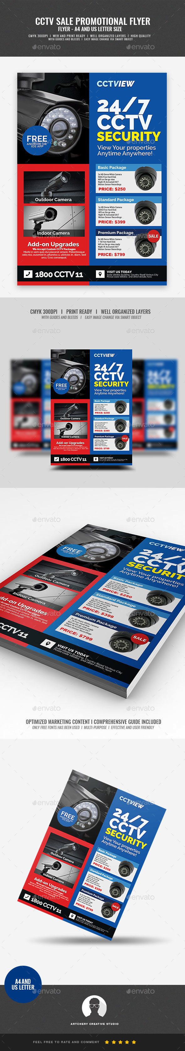 CCTV Package Deal Flyer - Corporate Flyers