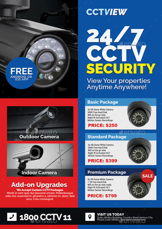 CCTV Package Deal Flyer