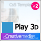 Play 3D - VideoHive Item for Sale