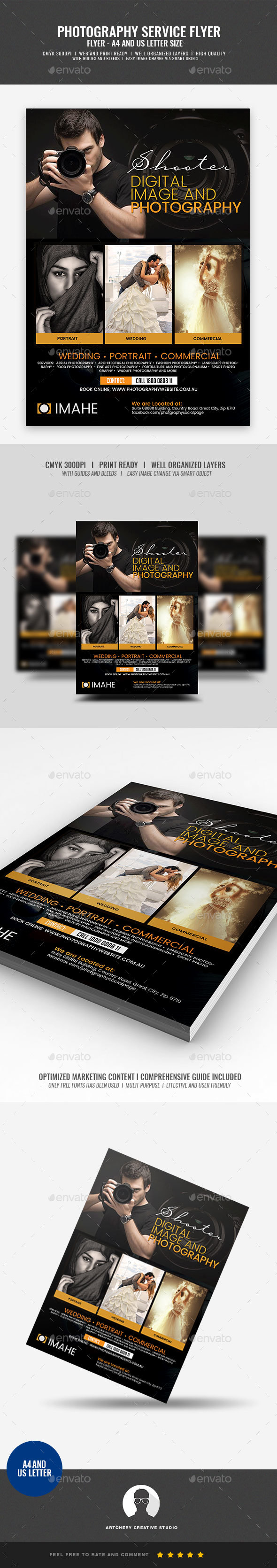 Photographer Promotional Campaign Flyer - Corporate Flyers