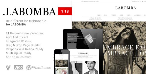 Labomba - Responsive Multipurpose WordPress Theme - WooCommerce eCommerce
