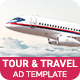 Tour & Travel | Flight Booking Banner (TT001)