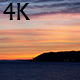 Sunset City And Sea Horizon 4K - VideoHive Item for Sale