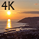 Sunset over City Coast - VideoHive Item for Sale