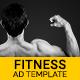 Health & Fitness | Fitness Expert Banner (HF001)