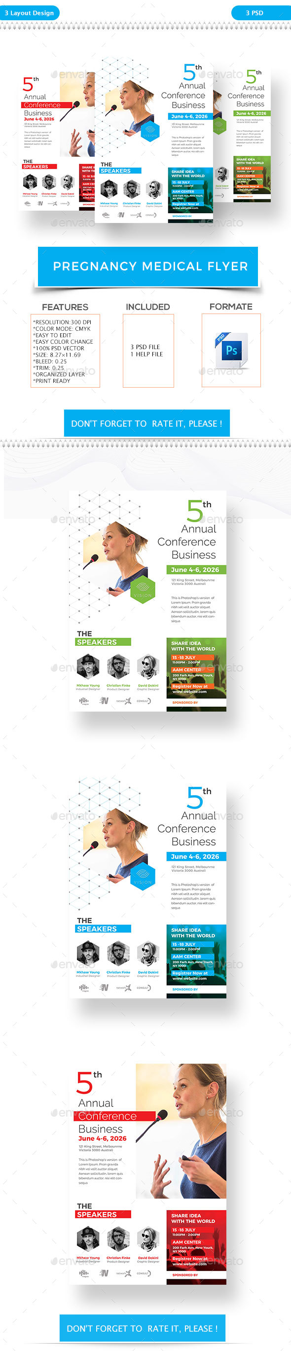Event/Conference Flyer - Corporate Flyers