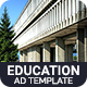 Education & Institute | Higher Education Banner (EI001)