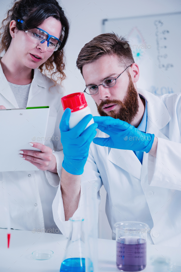 Young Scientist In The Laboratory - Stock Photo - Images