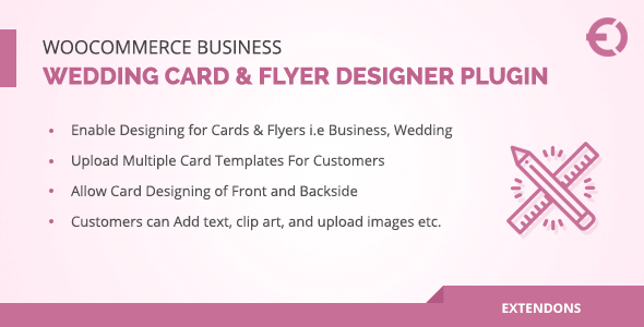 WooCommerce Business, Wedding Card & Flyer Designer Plugin - CodeCanyon Item for Sale