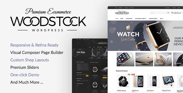 Woodstock - Electronics Responsive WooCommerce Theme