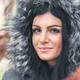 Beautiful woman wearing a fur hood winter coat - PhotoDune Item for Sale