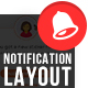 Multipurpose Notification Layout