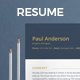 Clean Elegant Resume - GraphicRiver Item for Sale