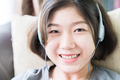 Young woman listening music from mobile phone-16 - PhotoDune Item for Sale