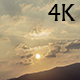 Golden Sunset over Hill - VideoHive Item for Sale