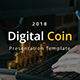 Digital Coin - Business Google Slide Template - GraphicRiver Item for Sale