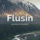 Flusin Creative Powerpoint Template - GraphicRiver Item for Sale
