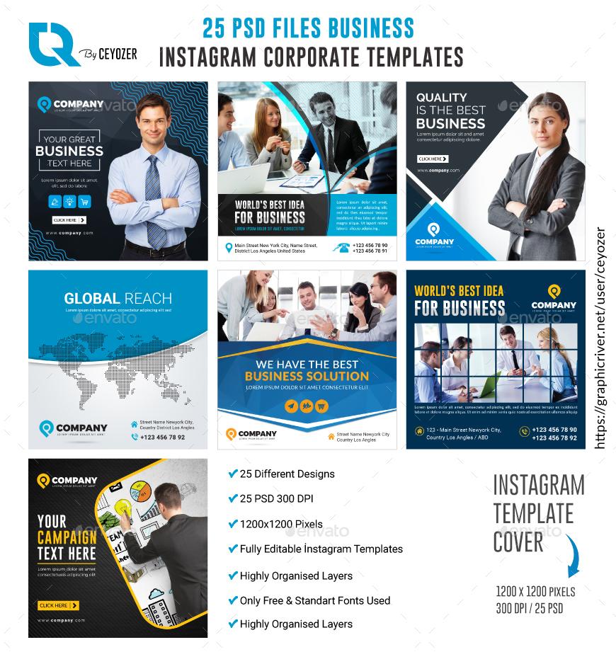Business Instagram Templates