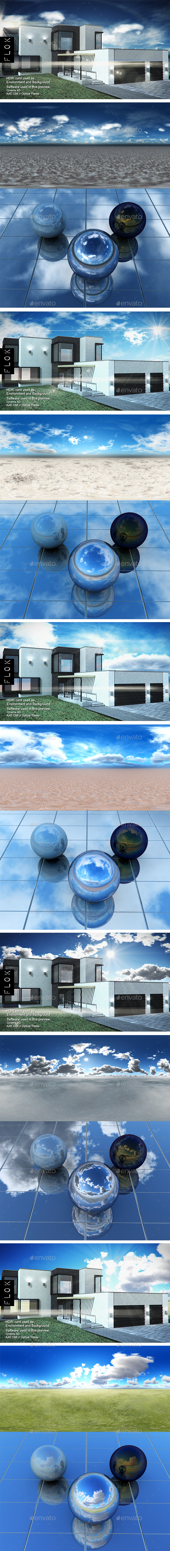 HDRI Pack - Desert vol 25 - 3DOcean Item for Sale