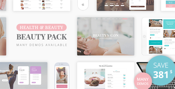 Image of Beauty Pack - Wellness Spa & Beauty Massage Salons WP