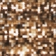 Gold Blinking Metal Wall - VideoHive Item for Sale