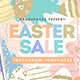 Easter Social Media Templates - GraphicRiver Item for Sale