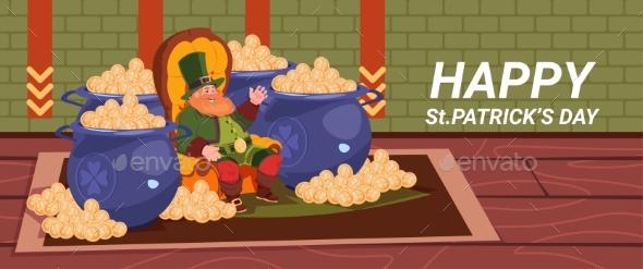 Happy St. Patricks Day Decoration Card - Miscellaneous Seasons/Holidays