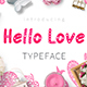 Hello Love - Valentine's Day Font - GraphicRiver Item for Sale
