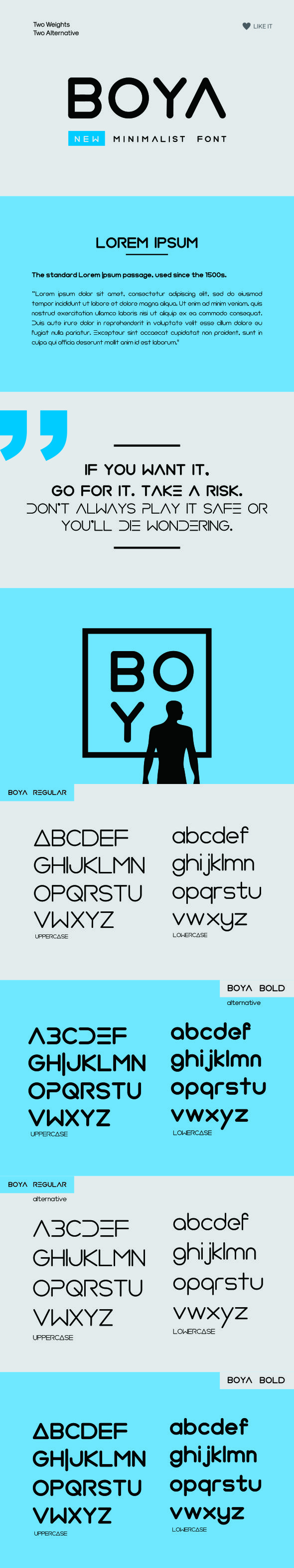 BOYA (Rounded Font) - Sans-Serif Fonts