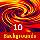 Twirl Backgrounds - GraphicRiver Item for Sale