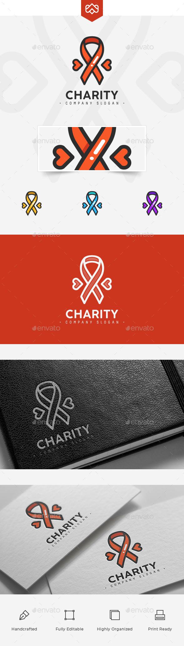 Charity Logo - Symbols Logo Templates