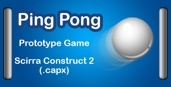 Ping Pong Ball Game Prototype - CodeCanyon Item for Sale